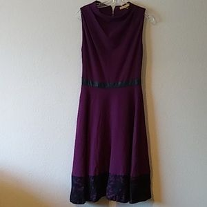 Alice + Olivia purple dress